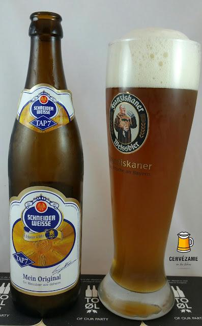 cerveza beer Schneider Weisse Tap 7 Unser Original cervezame