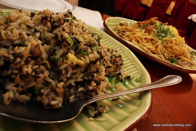 MADRID COOL BLOG restaurante el buen gusto arroz y tallarines chino auténtico santa maría de la cabeza