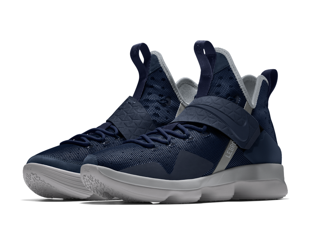26bb7c2f7716 Nike Adds New Options for LeBron 14 iD Including OG NIKE Straps ...