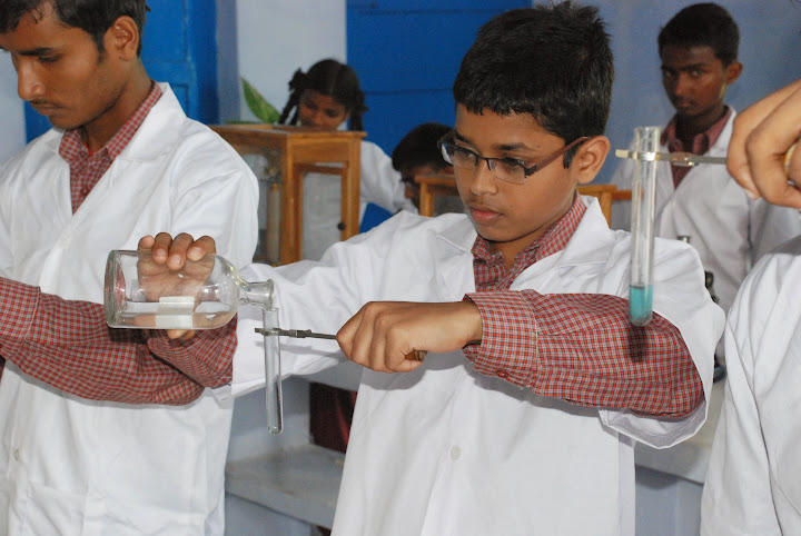 Children in Science Lab
