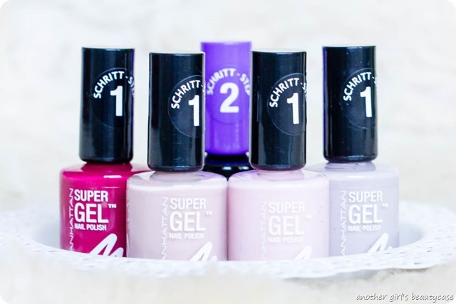 Manhattan Super Gel Nail Polish Swatch Erfahrungsbericht sweet side time for taupe berry love mauvelicious-5