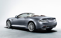 The New Aston Martin Virage 2011 convertible back