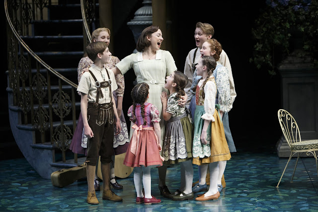 Members of the company in The Sound of Music. Photography by David Hou.
