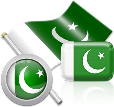 Pakistani flag icons pictures collection