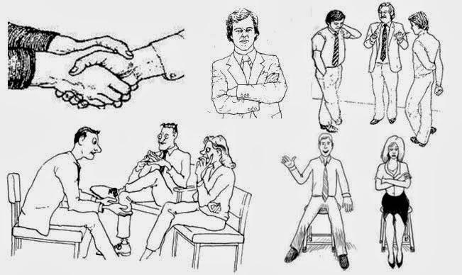 Lenguaje corporal: ¡Cuidado! Tus movimientos te delatan
