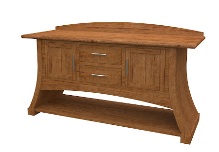 Adagio Sideboard in Como Maple