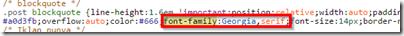 font-family-degistirme