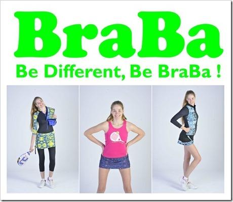 BRABRA un concepto diferente e innovador para el textil del jugador de pádel.