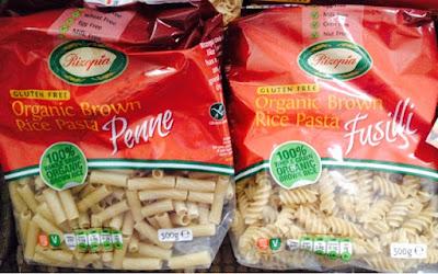 Rizopia Gluten Free Penne and Fusilli Pasta - Rachel Bustin