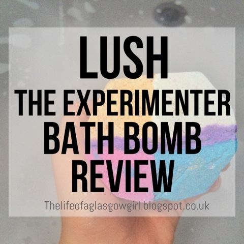 Graphic for The Experimenter bath bomb by Lush review