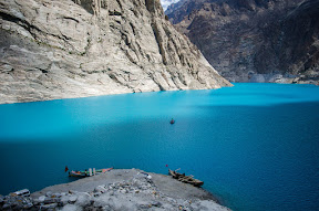 Beautiful view of Attabad Lake, Hunza