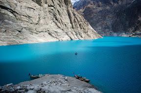 Beautiful view of Attabad Lake, Hunza