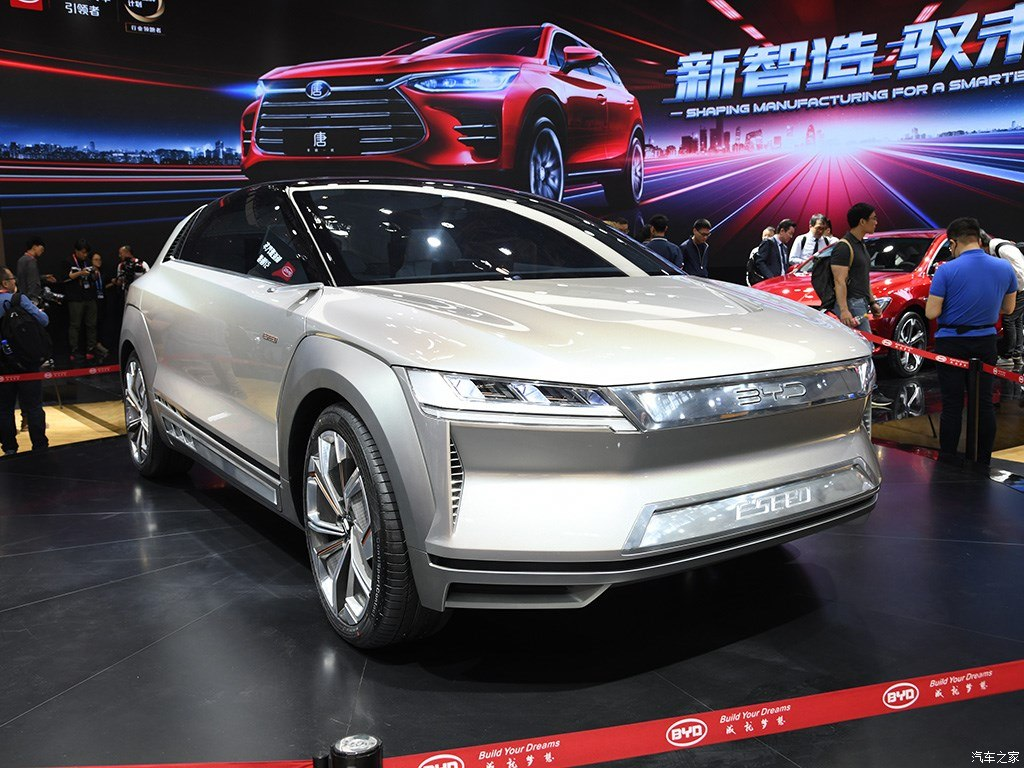 China Electric Car Byd E