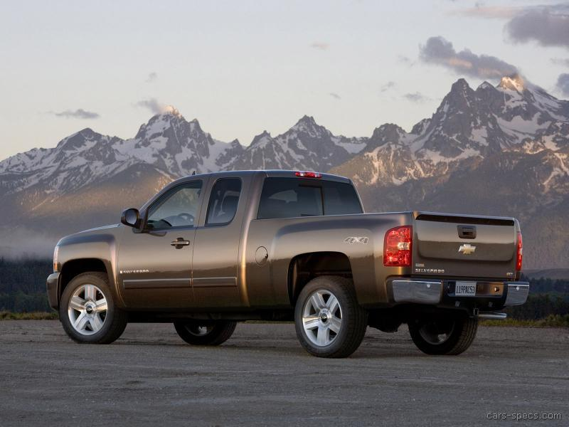 2007 chevrolet silverado 2500hd classic extended cab specifications pictures prices. Black Bedroom Furniture Sets. Home Design Ideas