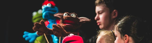 Puppetry residency Belconnen Arts Centre