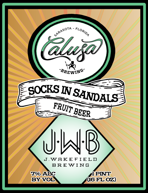 Logo of Calusa Socks In Sandals