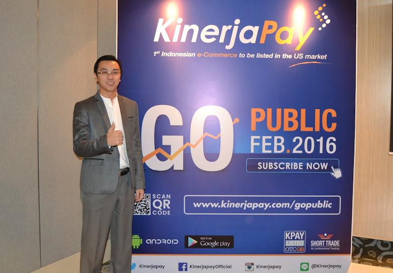 Kinerja Pay Go Public