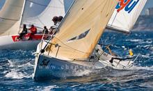 J/80 sailboat- sailing Santander, Spain