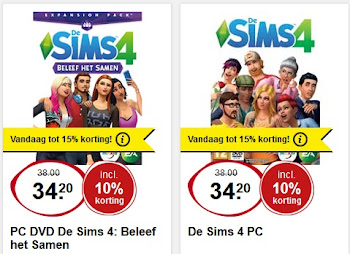 De Sims 4 aanbieding Intertoys