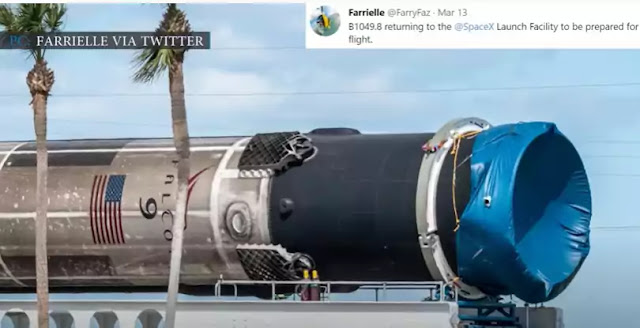 SpaceX rocket boosters