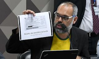 YouTube exclui canal 'Terça Livre', do blogueiro Allan dos Santos
