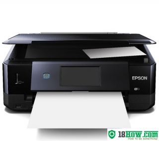 How to reset flashing lights for Epson XP-720 printer