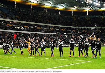 Europa League : L'Eintracht Francfort rejoint les huitièmes