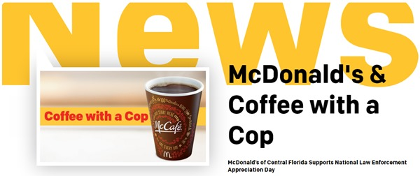 mcdonalds coffee cop