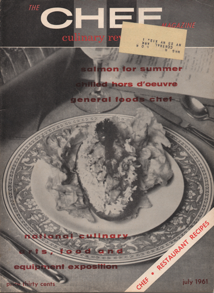 Chef Review Magazine | July 1961