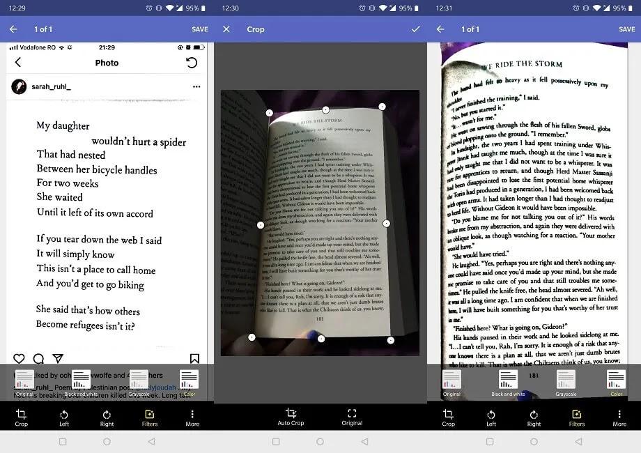 تطبيقات الماسح الضوئي للوثائق Android Finereader Pdf