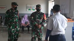 Danrem 063/SGJ Cek Pos Pam dan Penyekatan Arus Mudik di Karawang