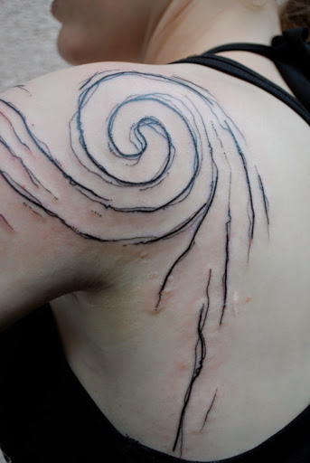 Unique kind of Shoulder tattoos