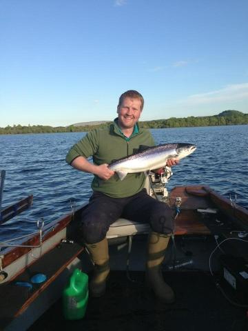 Scottish fishing guide salmon trolling loch lomond for Loch lomond fishing