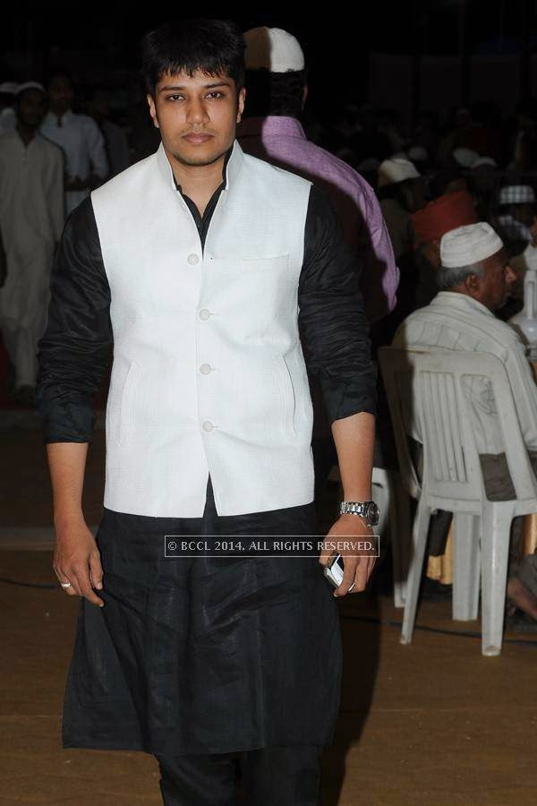 Kashif during the iftaar party.