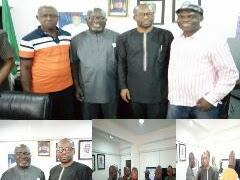 OMPAN National President Meets PDP National Publicity Secretary.