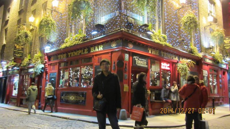 這裡是都柏林最著名的Temple Bar!!!!