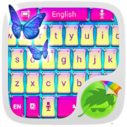 バタフライキーボード 娛樂 App LOGO-硬是要APP