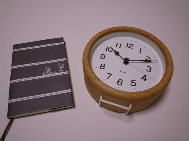 ケヤキの時計MIKIサイズ