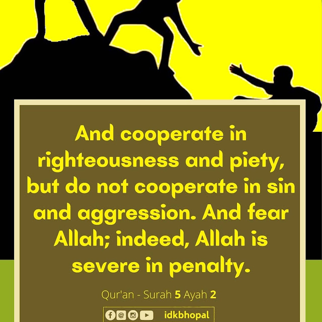 And Cooperate in righteousness and piety