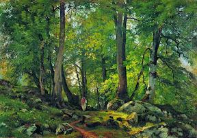 Буковый лес в Швейцарии.1863-1864 год.jpg