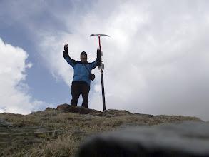 Photo: Les aparences enganyen... I alguns muntanyers, a vegades també. Això no és el cim del Pic de la Fossa del Gegant. Vaig quedar-me sense fer-lo quan era a pocs metres, per culpa d'una informació errònia...