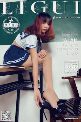 LiGui 2015.09.30 网络丽人 Model ALAN [40P]