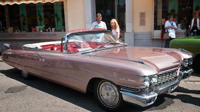 Cadillac Convertible 62 Series - Baujahr 1960. Davon wurden rund 14.000 Exemplare gebaut.