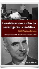Consideraciones sobre la investigación científica