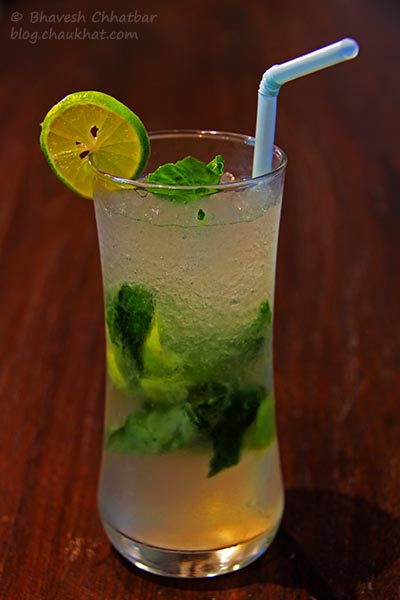 Ginger Mint Fizz at Frisco, Koregaon Park, Pune