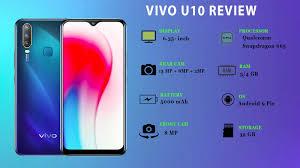 Vivo U10 best for  Mid-Range Guy Review
