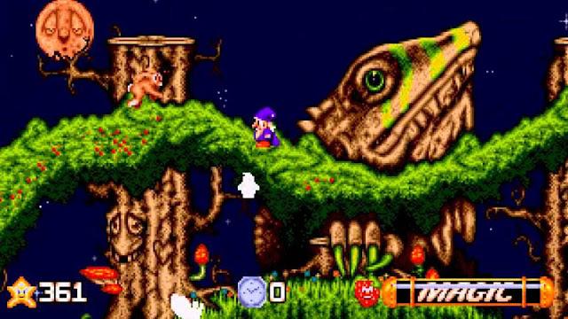 Jogo Wiz 'n' Liz - Mega Drive