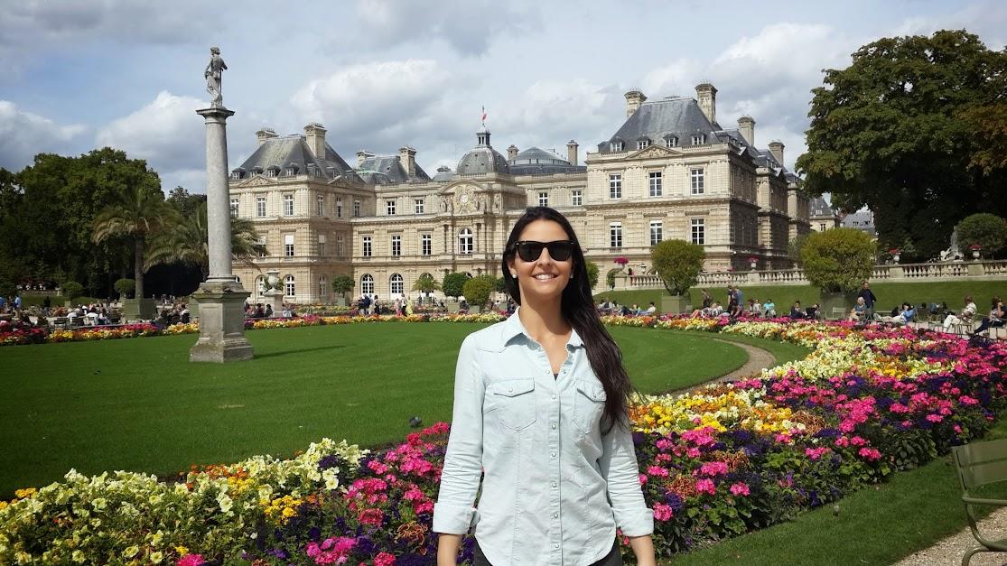 Carol em ParisCarol em Paris