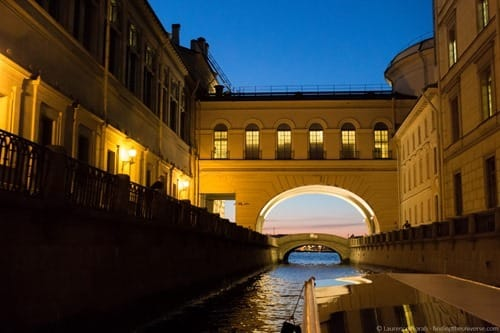 St Petersburg River Russia cruise bridge