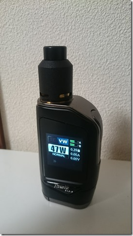 DSC 0272 thumb%255B1%255D - 【MOD】「Hcigar Towis T180タッチ液晶BOX MOD レビュー【MOD/VAPE/テクニカル】